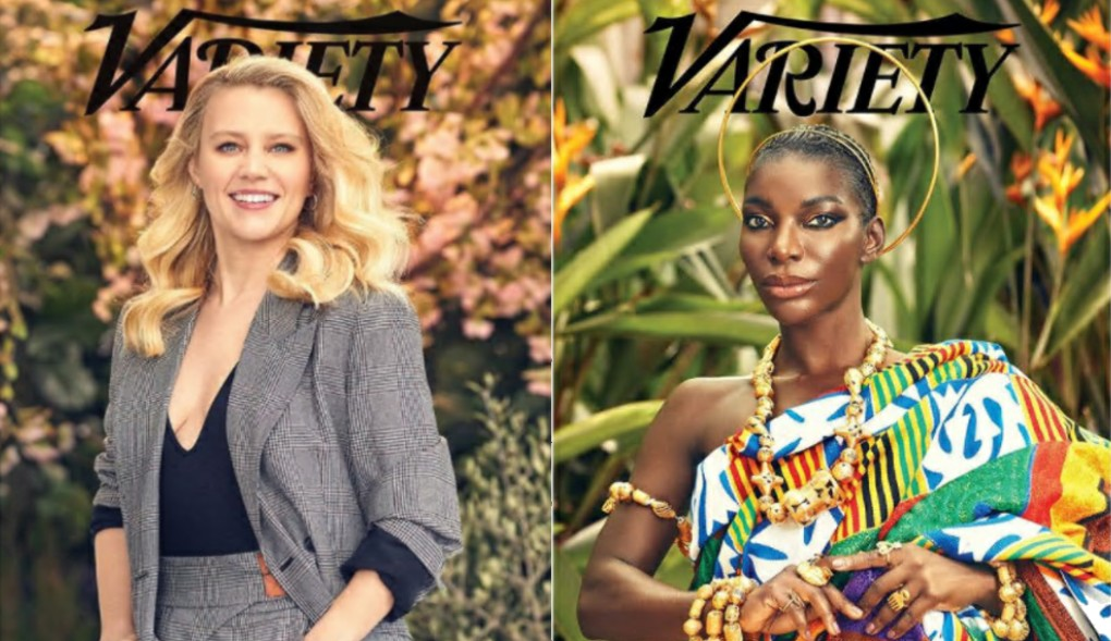 'Variety' releases 6 different covers for 'Power of Women in Comedy' featuring Michaela Coel, Kate McKinnon and more