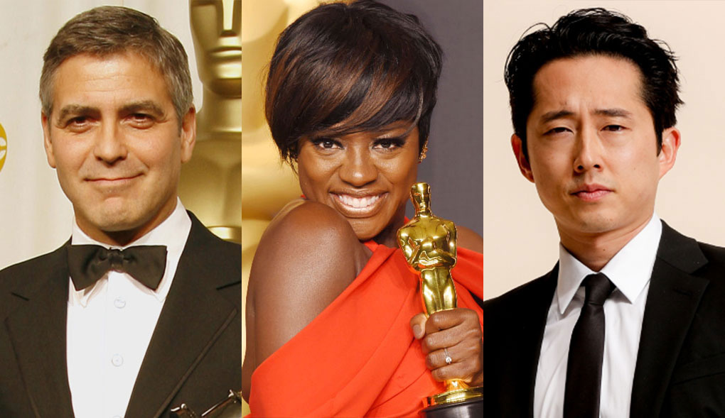 From George Clooney to Steven Yeun, these actors went from TV stars to the Oscars