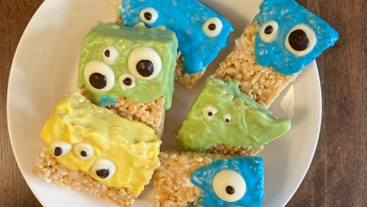 Krispie monsters