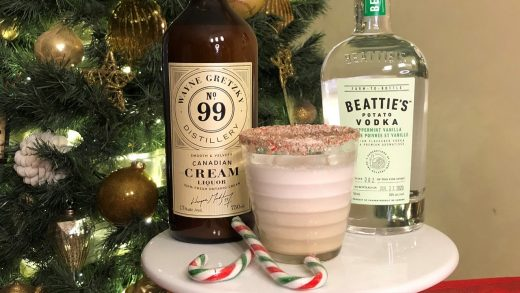 Christmas white Russian