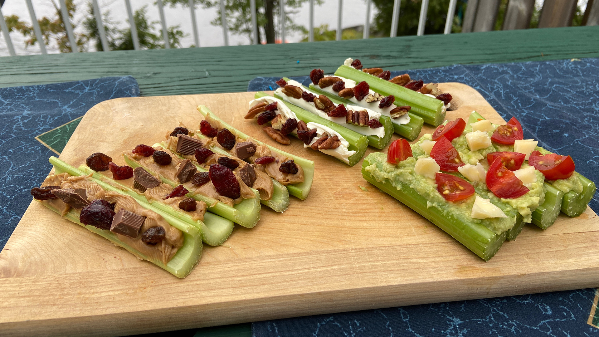 Ants On A Log With Celery