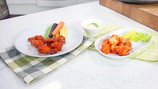 A Buffalo wing recipe that works for every diet
