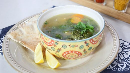 Rodney Bowers' Delicious Middle Eastern Chicken Soup