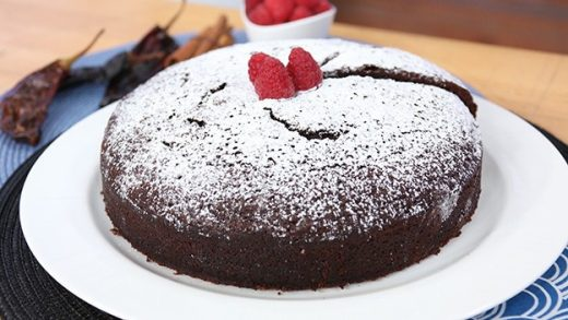 Mexican chocolate spice cake