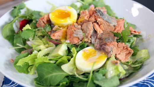 Rodney's protein-rich post-workout salad