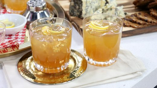 Bourbon maple lemon twist