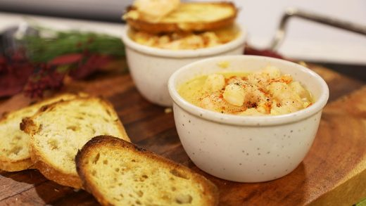 Potted shrimp
