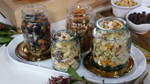 Four filling trail mix recipes