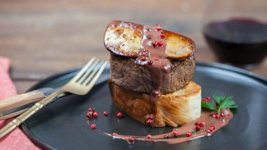Beef tournedos rossini (Tournedos Alla Rossini)