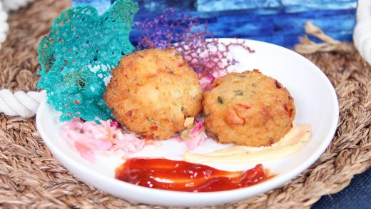 Conch cakes