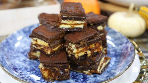 Pumpkin spice coffee nanaimo bars