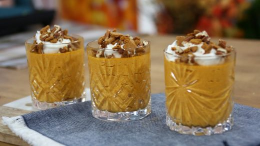 No bake pumpkin mousse
