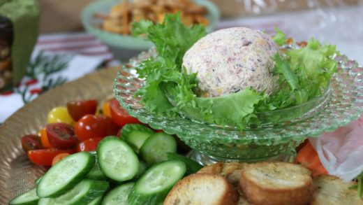 Chipped beef cheese ball