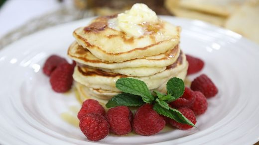 Traditional pancakes