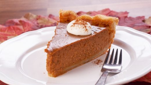 Magic pumpkin pie