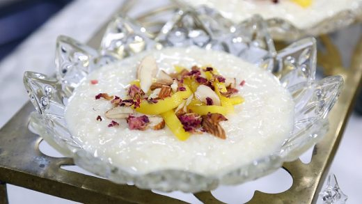 Cardamom rice pudding