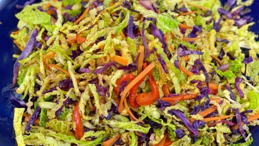 Fennel spiced cabbage