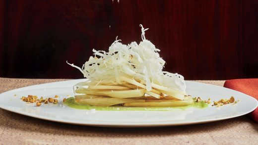 Fennel and Asian pear salad