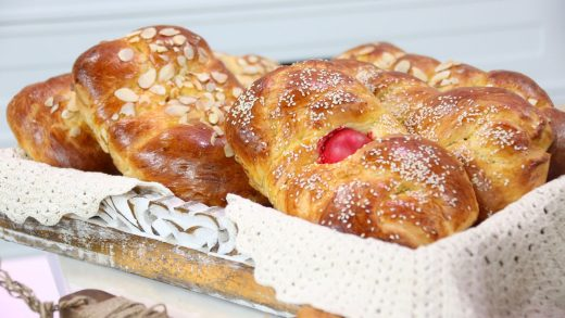 Tsoureki (Orthodox Easter sweet bread)