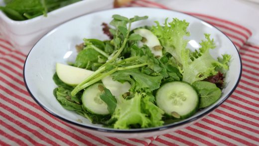 All-green salad