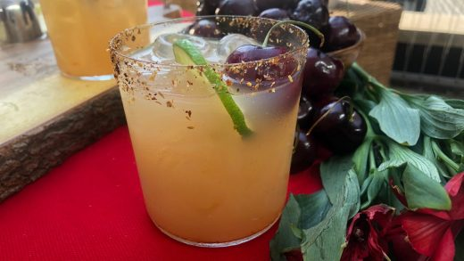 Lemony lime BBQ margarita