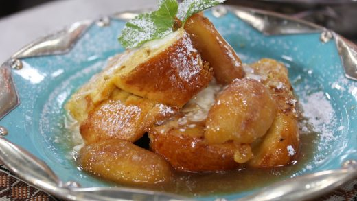 Almond crust French toast