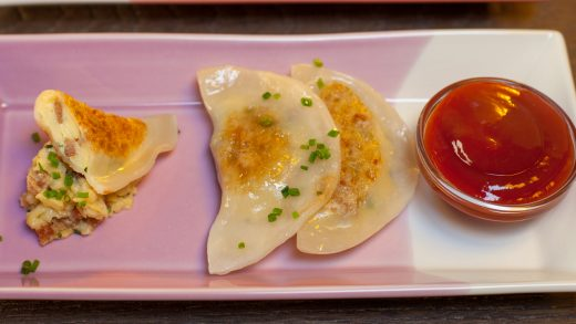 Breakfast dumplings