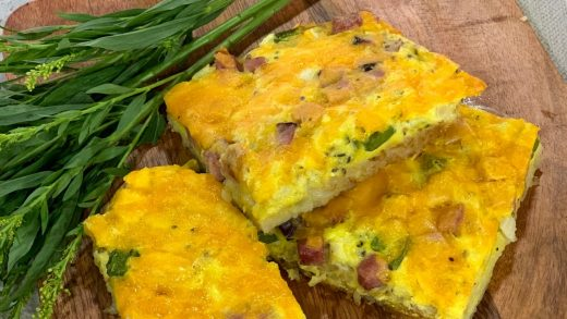 Western hash-brown egg bake