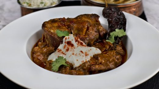 Lamb neck rogan josh curry