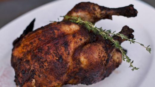 Spanish rotisserie chicken