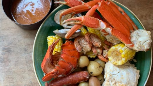 Seafood boil-up